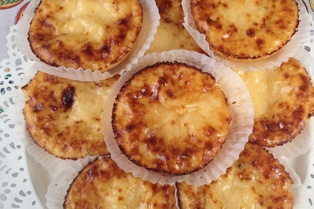 Tigelada  - Clay-baked egg custard ( no flour)